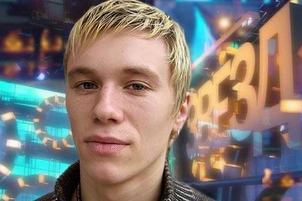 Антон Зацепин во время участие в конкурсе «Фабрика звезд»