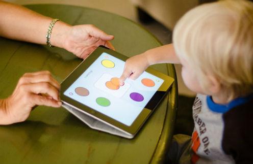 iPad - отличный воспитатель.