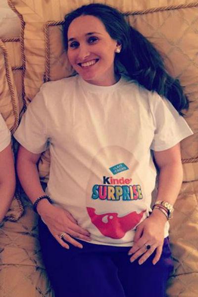 На протяжении всей беременности Анастасия буквально сияла от счастья