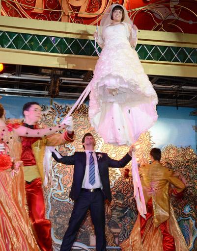 Выступление жениха и невесты