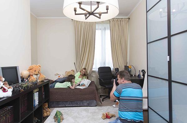 Весь интерьер Анжелика закупила в магазине IKEA
