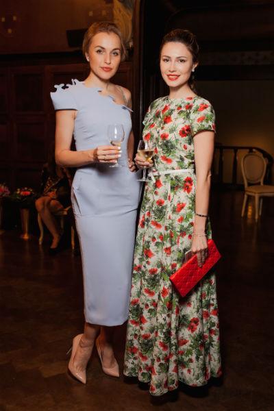 На торжестве также присутствовали Анна Городжая и ведущая Первого канала Ольга Ушакова