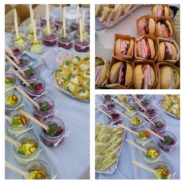 Основой праздничного стола были диетические блюда