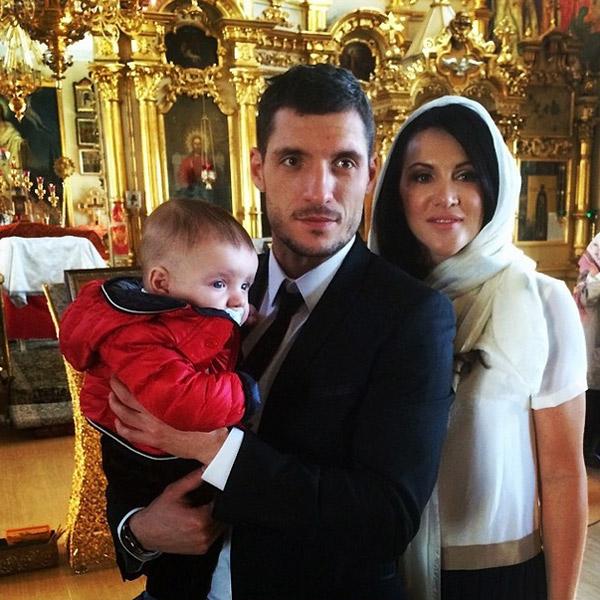Игорь Волков-младший с родителями
