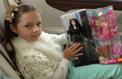 У Ариадны Волочковой собралась внушительная коллекция кукол