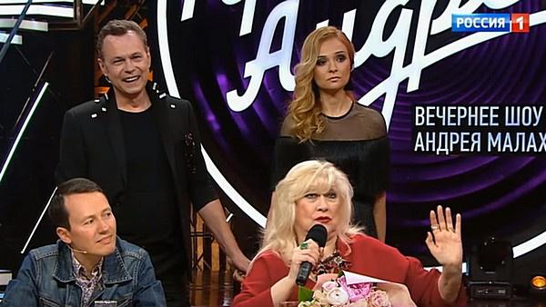 Владимир и Маруся Левкины появились в студии передачи лишь в финале