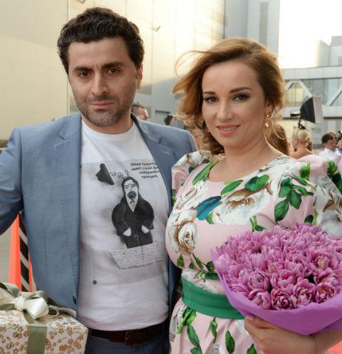 Анфиса Чехова с бывшим мужем