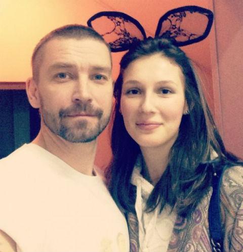 Владимир Кристовский с женой Ольгой Пилевской