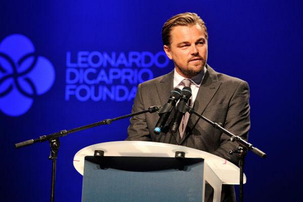 Леонардо Ди Каприо на благотворительном вечере фонда