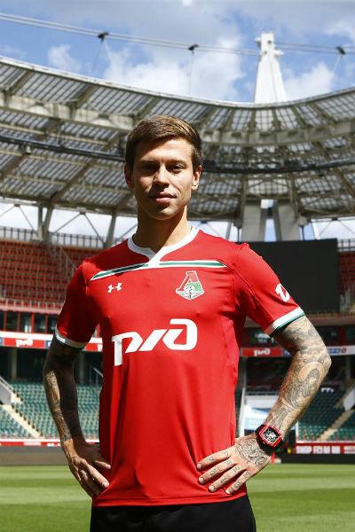 Федор уже примерил футболку «Локомотива»