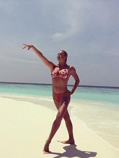 Анастасия Волочкова любит отдыхать на Мальдивах