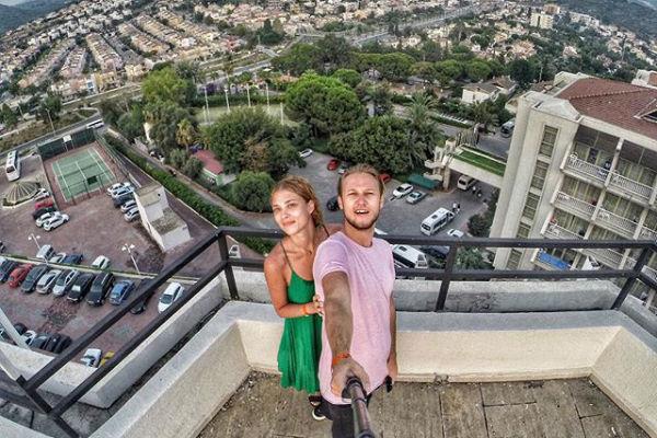 Алексей Корзин с супругой