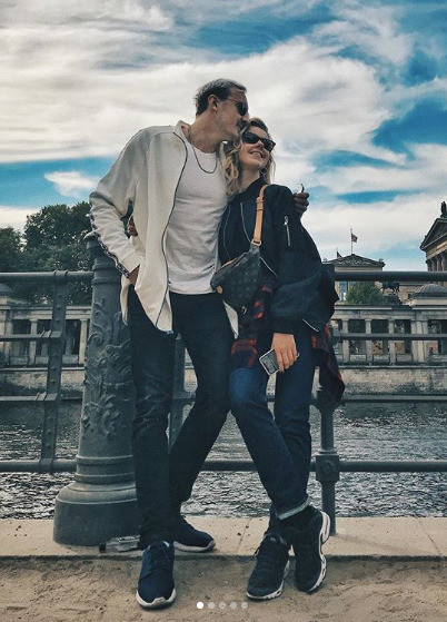 Юлианна с Андреем Черным