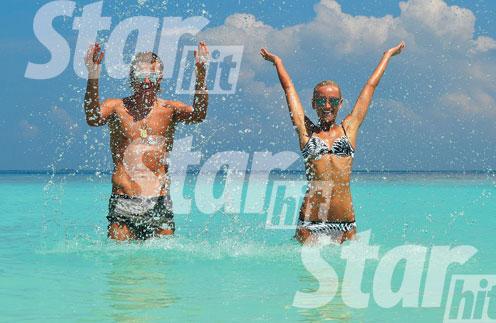 В пятизвездочном отеле Anantara Kihavah Villas на Мальдивах Тарасовых называли «солнечной парой»