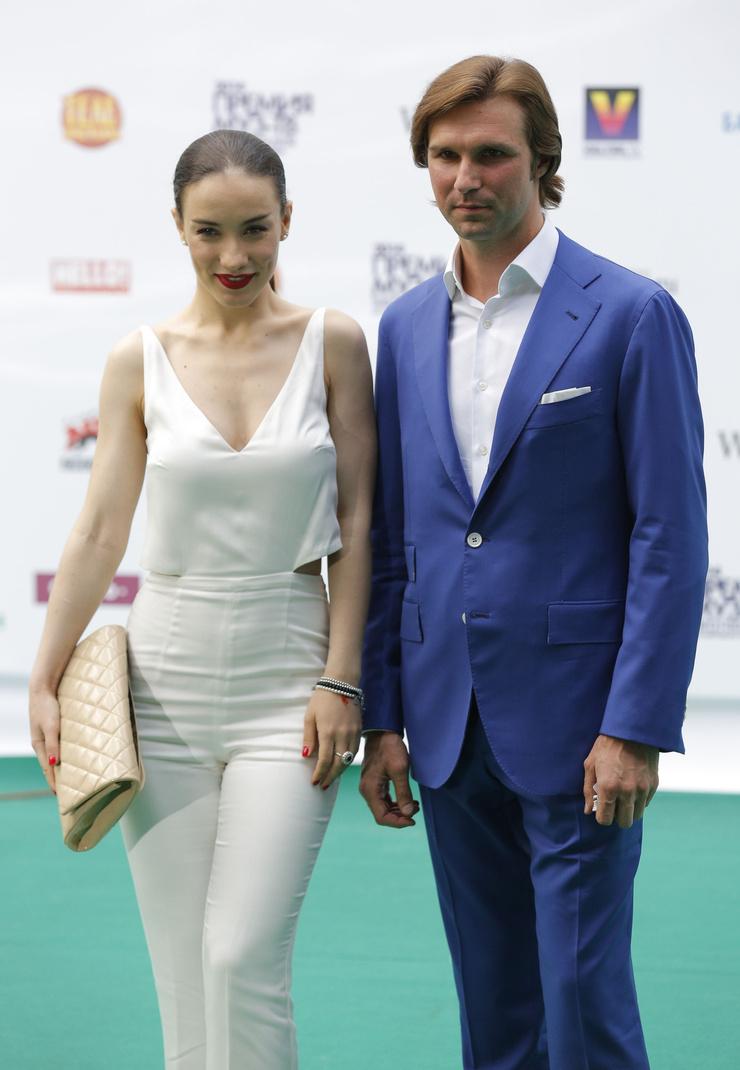 Виктория Дайнеко перед церемонией вручения премии МУЗ-ТВ в 2014 году
