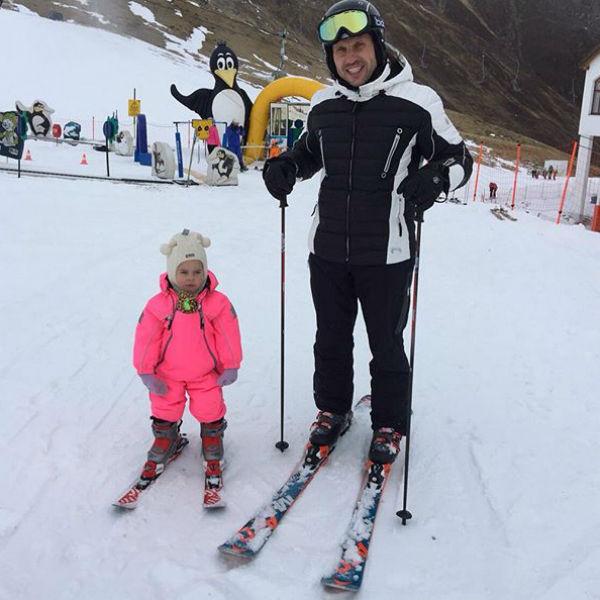 Александр с дочерью Амели