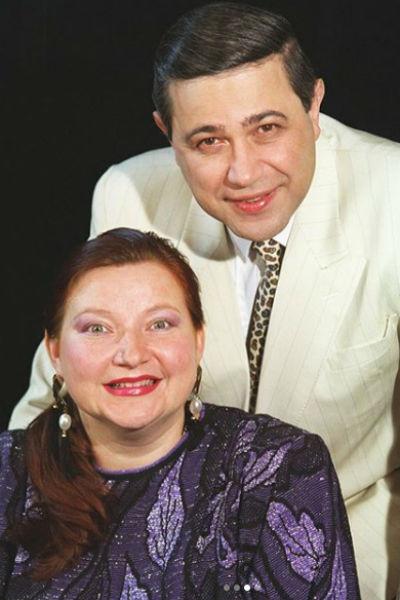 Отношения будущих супругов начались еще в 80-х