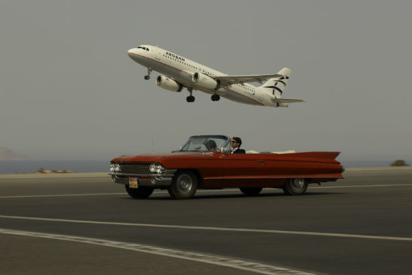 Ани Лорак пыталась угнаться за самолетом