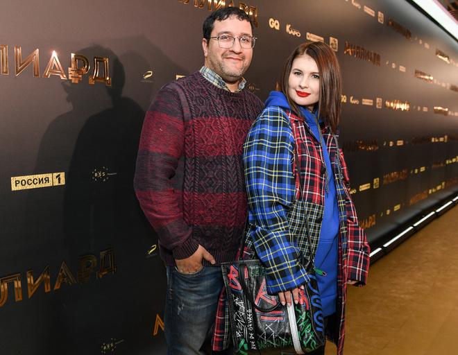 Александр Котт с супругой