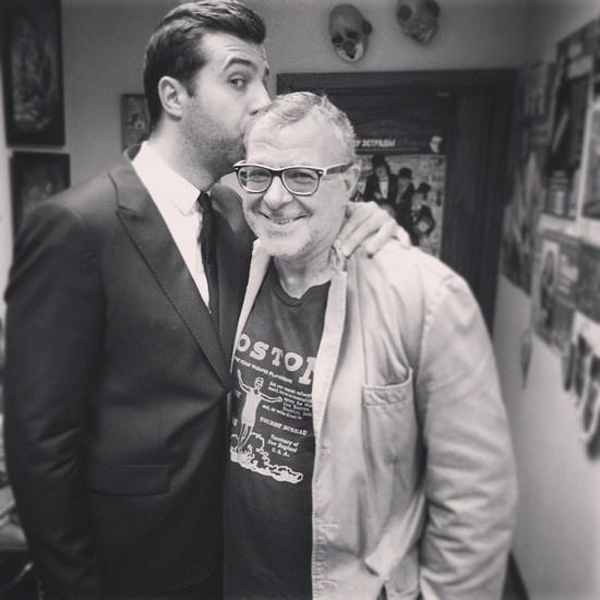 В прошлом году Андрей Ургант впервые стал гостем телешоу, которое ведет его сынВ прошлом году Андрей Ургант впервые стал гостем телешоу, которое ведет его сын