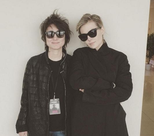 Земфира и Рената Литвинова дружат вот уже много лет