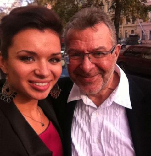 Елена Романова и Андрей Ургант