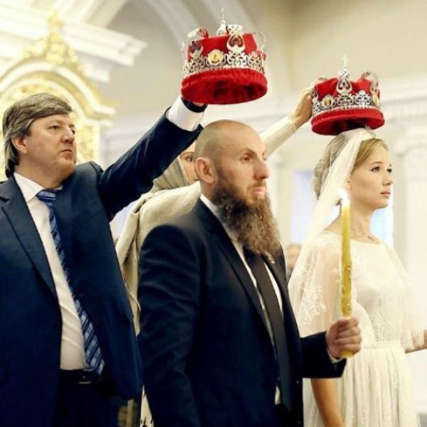 Венчание Владимира Кехмана и Иды Лоло