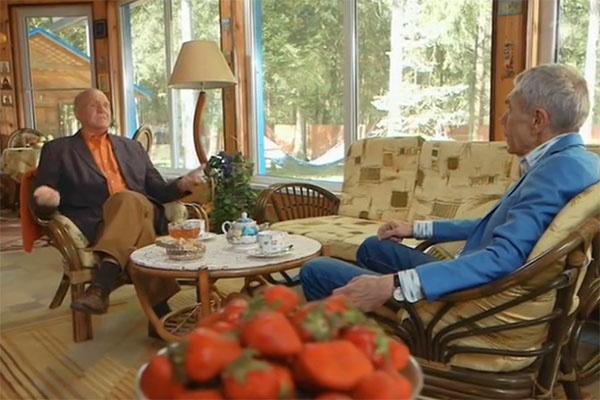 Владимир Меньшов рассказал Юрию Николаеву о своей семейной жизни