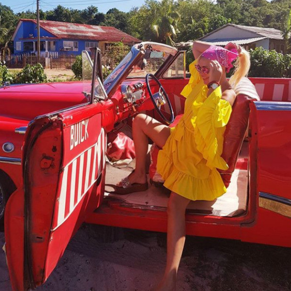 Юлия с мужем была на Кубе, когда его не стало