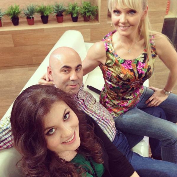Валерия, Иосиф Пригожин и старшая дочь певицы Анна
