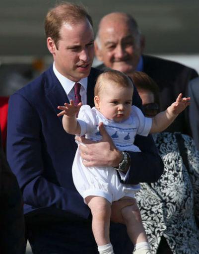 Иногда шалости Джорджа доставляют его родителям немалый дискомфорт