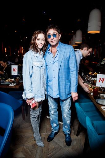 Григорий Лепс с дочерью Евой