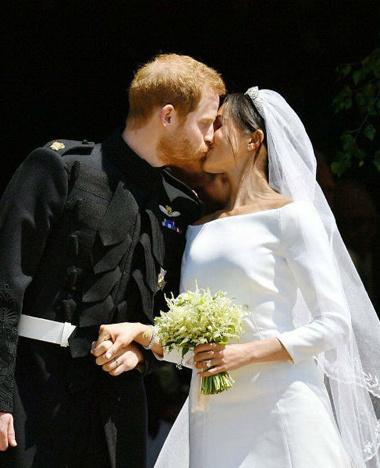 Свадьба года: Меган Маркл и принц Гарри обвенчались