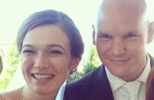 Евгений Коротышкин и его молодая жена Мария