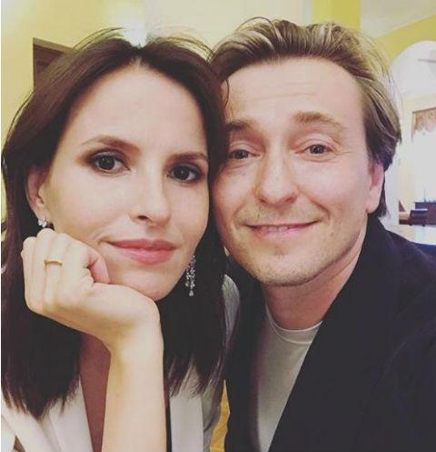 Сергей с супругой Анной