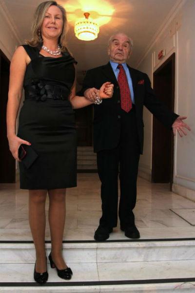Владимир Шаинский со второй супругой Светланой
