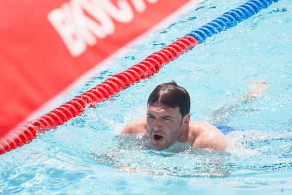 Максим Виторган в неплохой спортивной форме