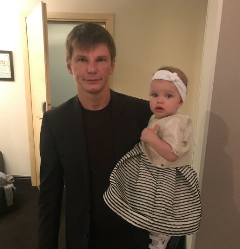 Андрей Аршавин с Есеней