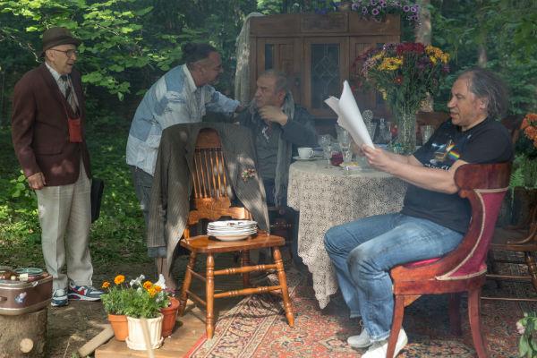 Исполнители главных мужских ролей – Александр Пашутин, Александр Балуев  (с Грымовым) и Игорь Яцко