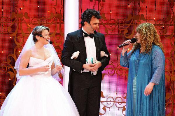 В шоу «Две звезды» дуэт Дятлова и Арбениной завоевал второе место и получил специальный приз от Аллы Пугачевой, 2008 год