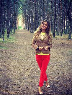 Виктория Боня прогулялась по Танцующему лесу