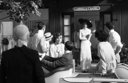Первый кадр со съемки фильма