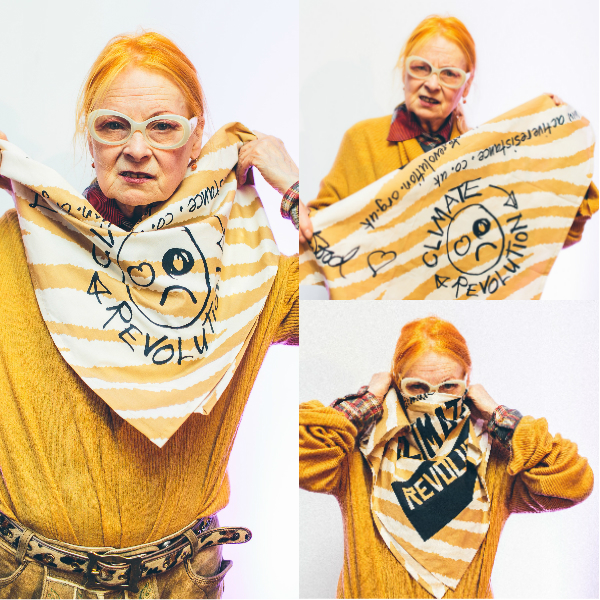 Дизайнер Вивьен Вествуд - известная бунтарка в сфере моды.