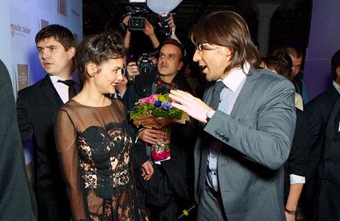 Одри Тоту и Андрей Малахов