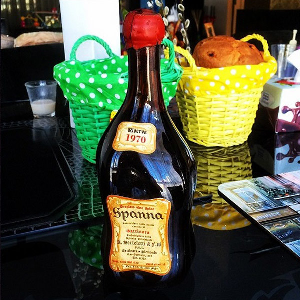 Элитная бутылка вина - подарок от Мити