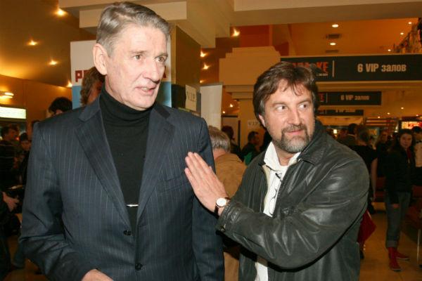 Александр Абдулов и Леонид Ярмольник