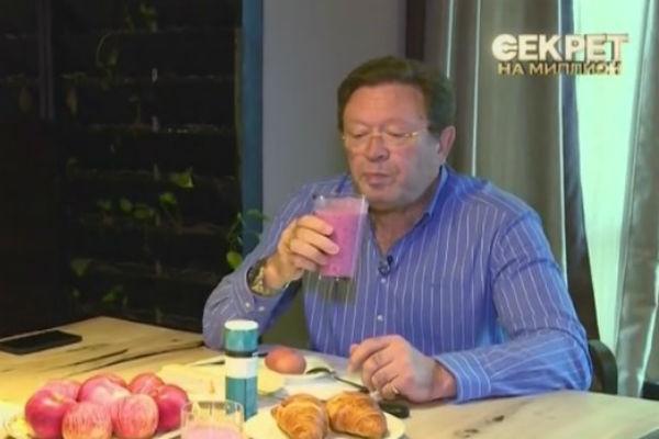 Актер обожает домашнюю еду