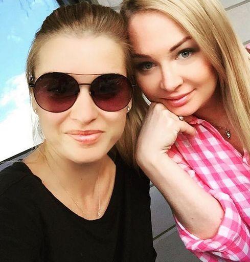 Ксения Бородина и Дарья Пынзарь