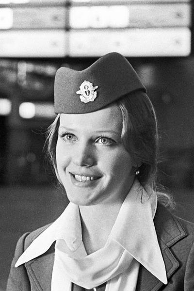 Актриса прославилась после роли стюардессы