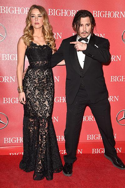 Слухи о том, что Джонни Депп и Эмбер Херд разводятся, появились в начале этого года